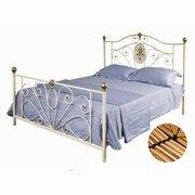 paturi cu cadru metalic vintage