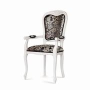 scaune albe vintage