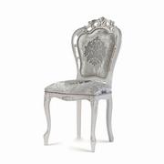 scaune argintii vintage