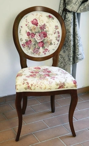 scaune cu floricele