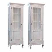 vitrine albe antichizate